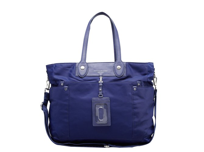 2e2b33b97d Marc by Marc Jacobs Handbags Handbags Cloth Blue ref.17048 - Joli Closet