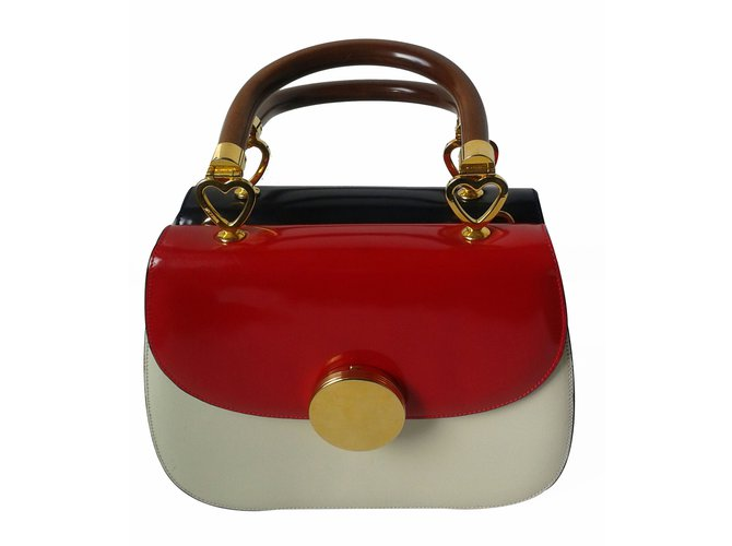 966a42f2d06 Moschino MOSCHINO REDWALL Handbags Patent leather Multiple colors ref.17561