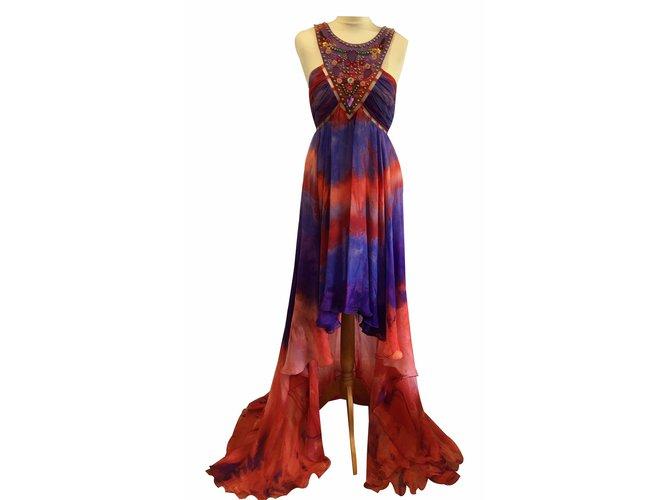 4d72de19e74 Emilio Pucci Runway maxi dress Dresses Silk Multiple colors ref.17659