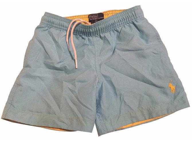 Shorts garçon Polo Ralph Lauren Shorts garçon Polyester Bleu ref.17879
