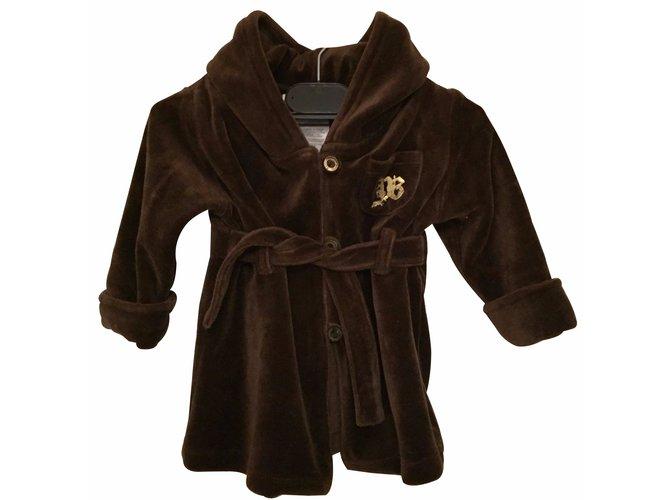 Body garçon Juicy Couture Juicy Couture Baby Coton Marron ref.17973