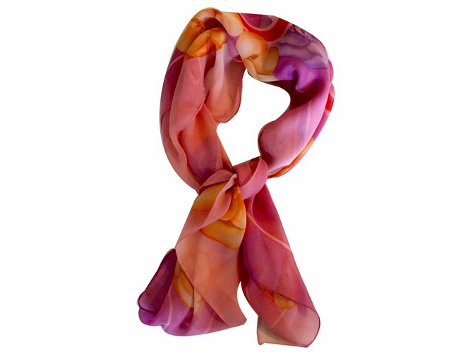 Chanel Scarf Scarves Silk Multiple colors ref.18187