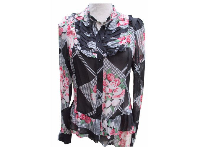 b0ab7f7f Kenzo Silk Shirt Tops Silk Multiple colors ref.18257 - Joli Closet