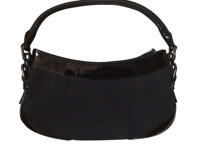 Burberry Handbags Handbags Cloth Black ref.18406