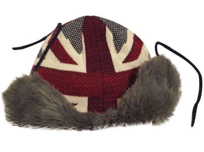 Chapeaux, bonnets, gants Pepe Jeans Chapka Acrylique Gris ref.18468