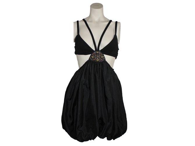Sass Bide Your Voice Dresses Silk Black Ref 18700 Joli Closet