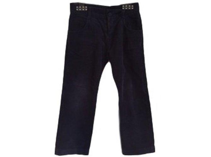 Tartine et Chocolat Pants Pants Cotton Blue ref.18933
