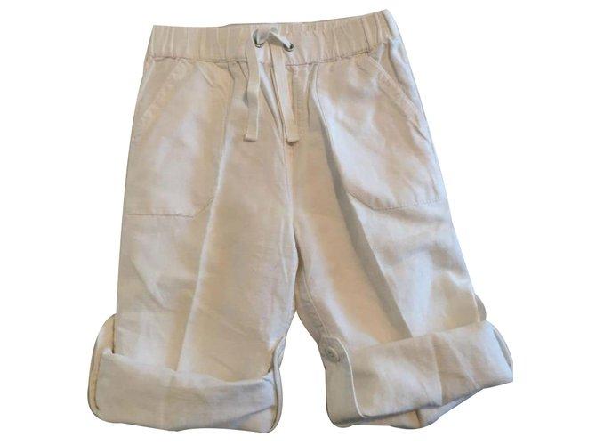 Autre Marque Pants White Cotton  ref.18984