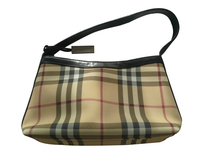 Burberry Clutch bags Clutch bags Cloth Multiple colors ref.19281
