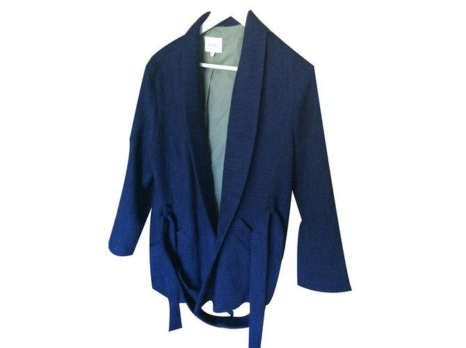 Pablo 19289 Darel De Joli Ref Vestes Closet Kimono Gerard Coton Bleu pHwwq