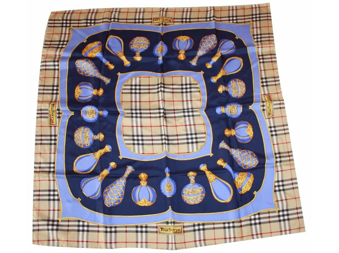 Burberry Silk scarves Silk scarves Silk Multiple colors ref.19462