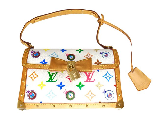"""7305c63b3d17 Louis Vuitton """"EYE NEED YOU"""" Limited Edition Monogram BAG Handbags Leather  Multiple colors ref"""