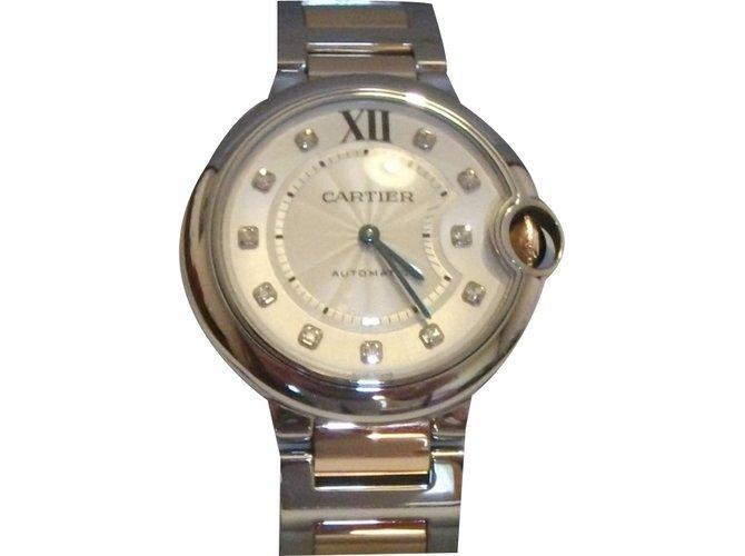 e9ed3da704 Cartier Ballon Bleu de Cartier Fine watches Pink gold Golden ref.20647