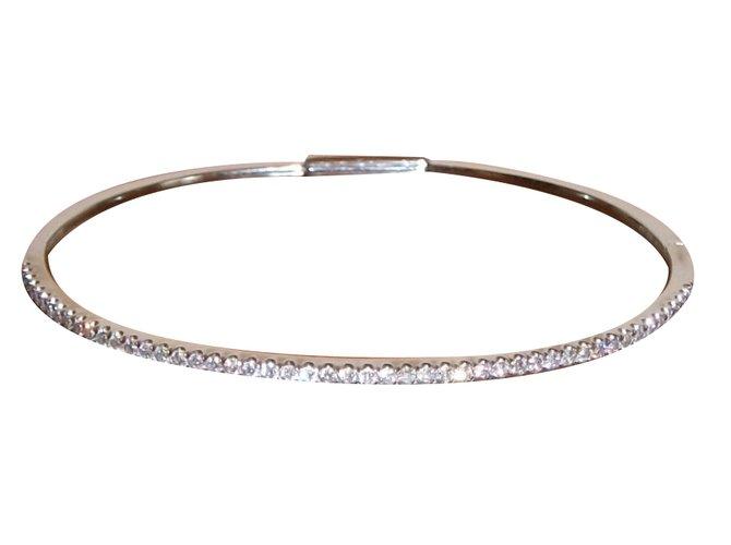 gold white closet messika bracelet bracelets white gold white ref20648 joli closet