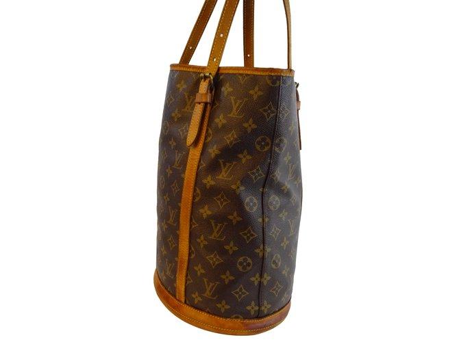 75f7400d649 Louis Vuitton Bucket bag Handbags Leather Other ref.21061 - Joli Closet