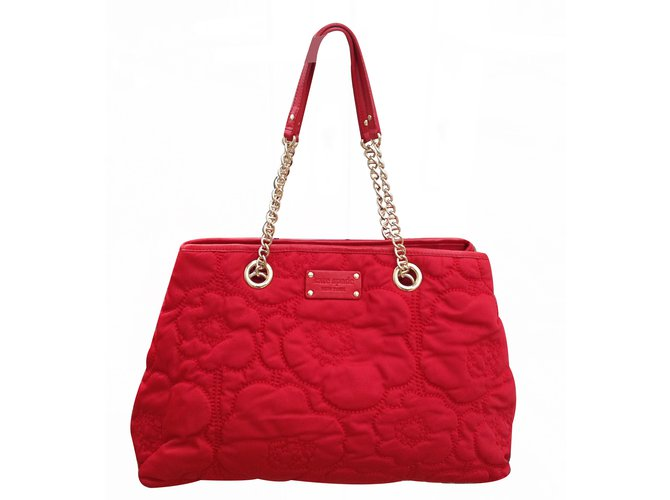 Kate Spade Cherry Fl Quilted Large