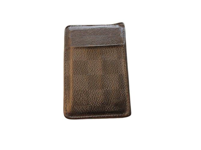 7fb85ee66c48 Petite maroquinerie homme Louis Vuitton Néo porte cartes Autre Gris  ref.21469