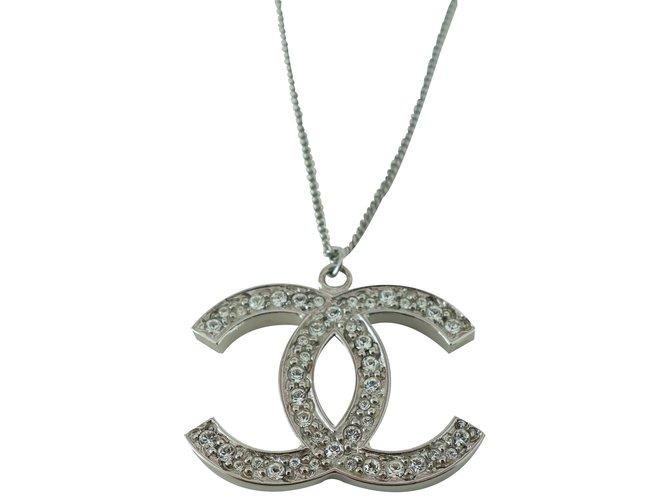 8205b61b675faa Chanel Necklaces Necklaces Steel Silvery ref.21705 - Joli Closet