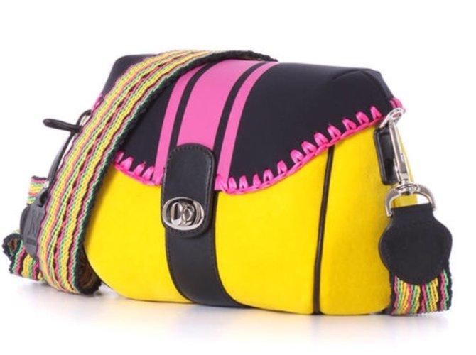 Missoni Velvet And Neoprene Bag Handbags Multiple Colors Ref 21839