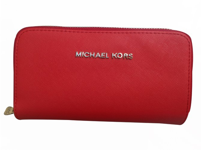 347fb4444f81 Michael Kors Purse Purses, wallets, cases Leather Red ref.21900 ...