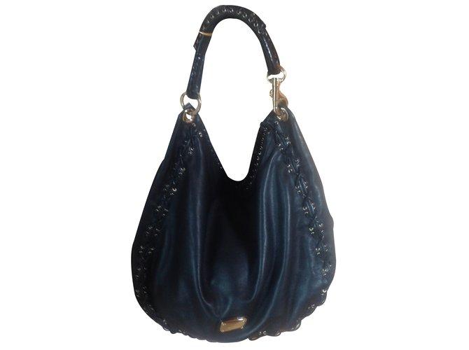 f33d0da86a Jimmy Choo Handbag Handbags Leather Black ref.21957 - Joli Closet