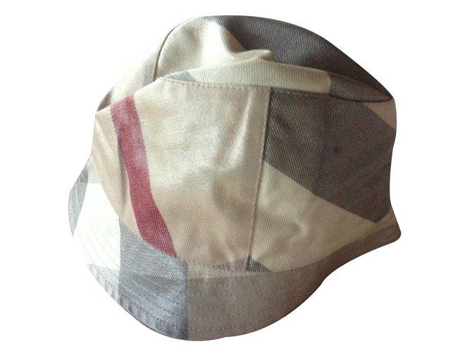Chapeaux, bonnets, gants Burberry Bob fille Burberry Coton Autre ref.21995