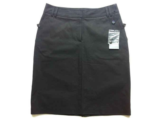 Burberry Skirts Skirts Cotton Black ref.22083