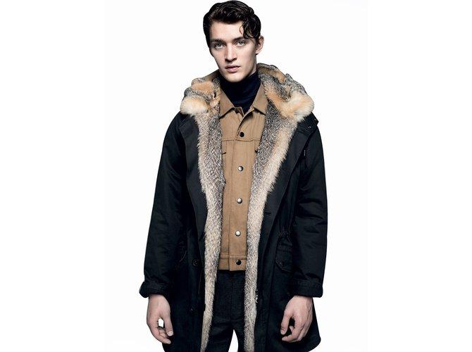 Les manteau homme fourrure