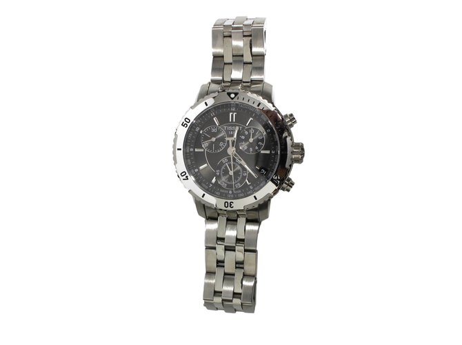 tissot prs 200 quartz watches steel silvery. Black Bedroom Furniture Sets. Home Design Ideas
