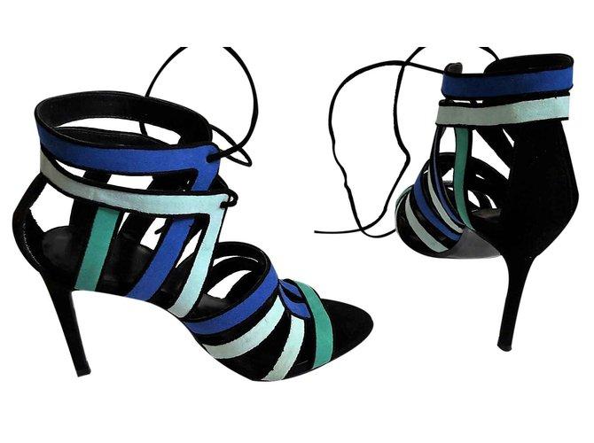 c5d404884c2e7d Zara Sandals Sandals Suede Multiple colors ref.22672 - Joli Closet