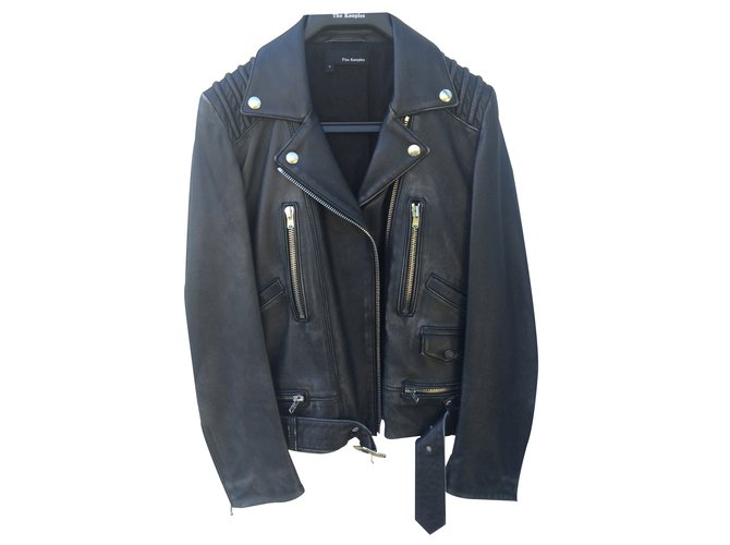 The Kooples Leather Jacket Biker Jackets Leather Black Ref.22921