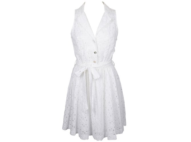 White Dresses Joli Maraboutée Fée La 23124 Cotton Ref Dress Closet SXqgcwa