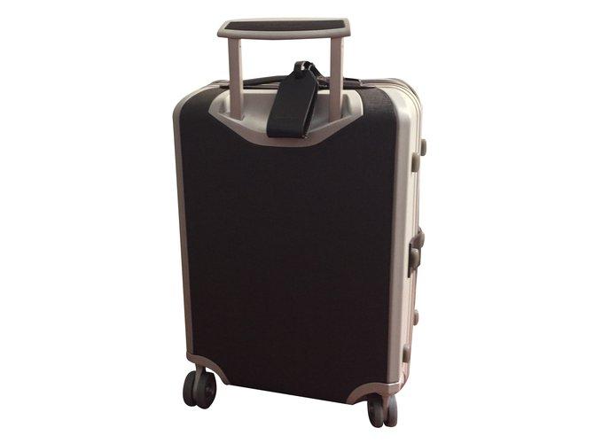 38d85cf75ac4 Salvatore Ferragamo Ferragamo travel suitcase Bags Briefcases Other Brown  ref.23410