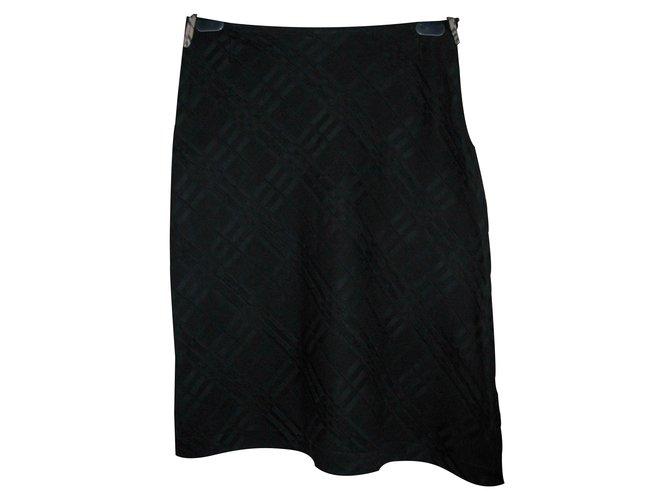 Burberry Burberry asymmetric skirt Skirts Cotton Black ref.23662