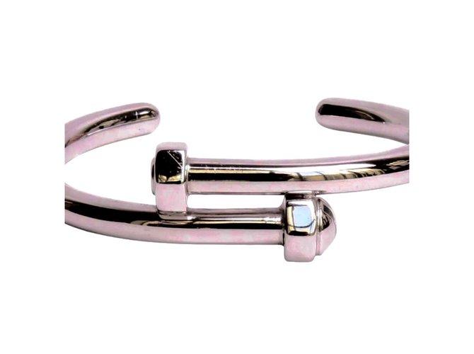 Salvatore Ferragamo Bracelet Bracelets Metal Silvery Ref 24348