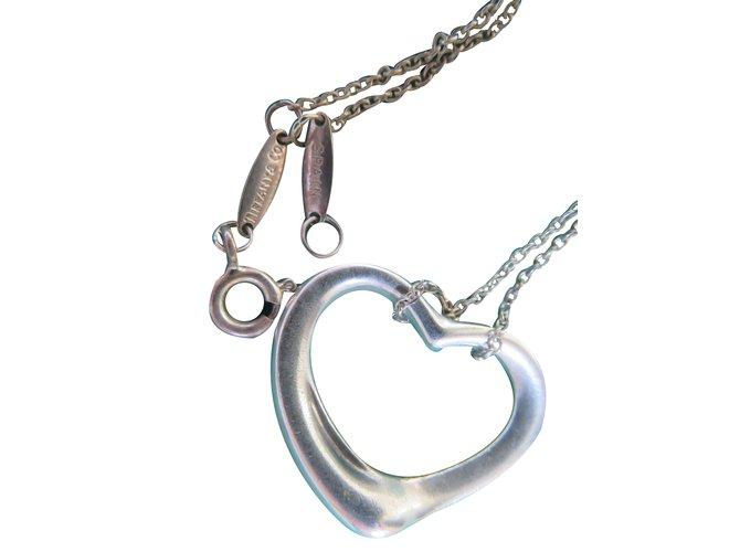863359e93 Tiffany & Co Pendant necklace Pendant necklaces Silver Silvery ref.24498