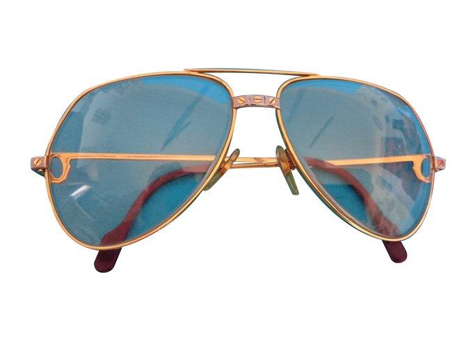 e3f9aaa66e8c1 Cartier Sunglasses Sunglasses Gold Golden ref.24504 - Joli Closet
