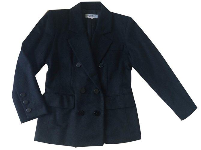 ec01a9b387c Yves Saint Laurent Jacket Jackets Cashmere Black ref.24691 - Joli Closet