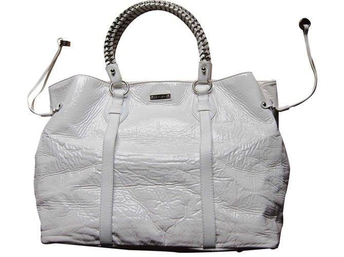 Orciani Handbag Handbags Synthetic White Ref 24852