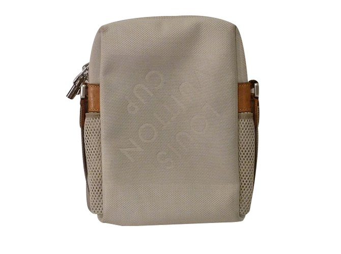 63b163aec153 Louis Vuitton Citadin PM Terre Crossbody Handbags Other Cream ref.24953