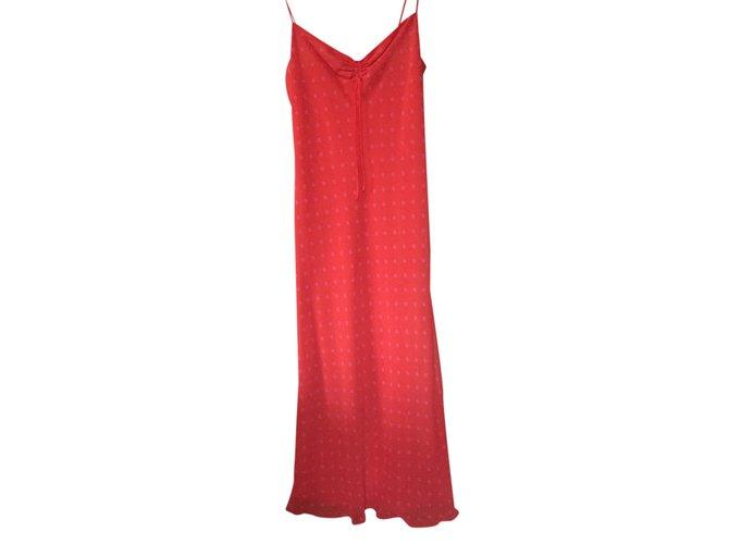 Robes Zara Robe Polyester Rouge Ref 25075 Joli Closet