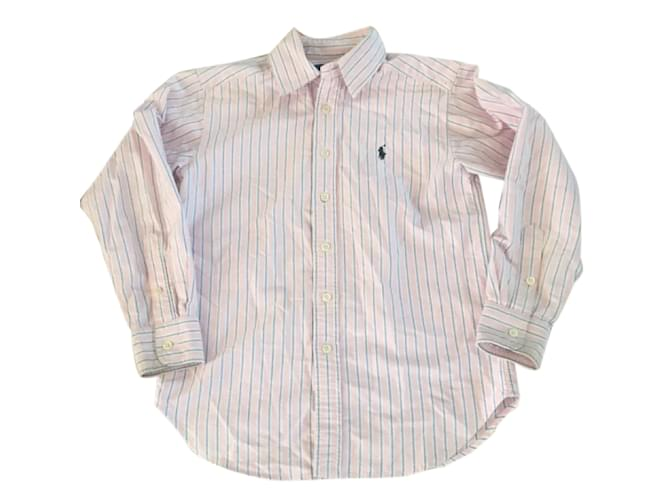 Polo Ralph Lauren Top Tops Tees Cotton Pink ref.25106