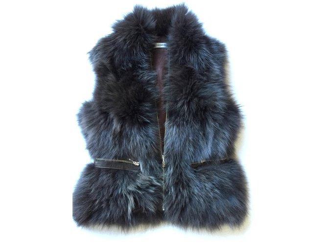 Yves Salomon Fox fur Jackets Fur Brown ref.25171