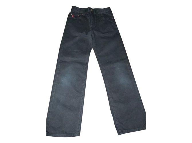 Polo Ralph Lauren Pants Pants Polyester Black ref.25176