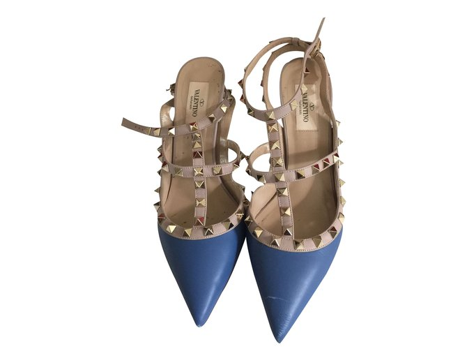 49551c60f0eb Valentino Heels Heels Leather Multiple colors ref.25290 - Joli Closet