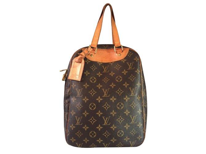 aacd092ed3f1 Louis Vuitton Handbag Handbags Synthetic Brown ref.25370 - Joli Closet