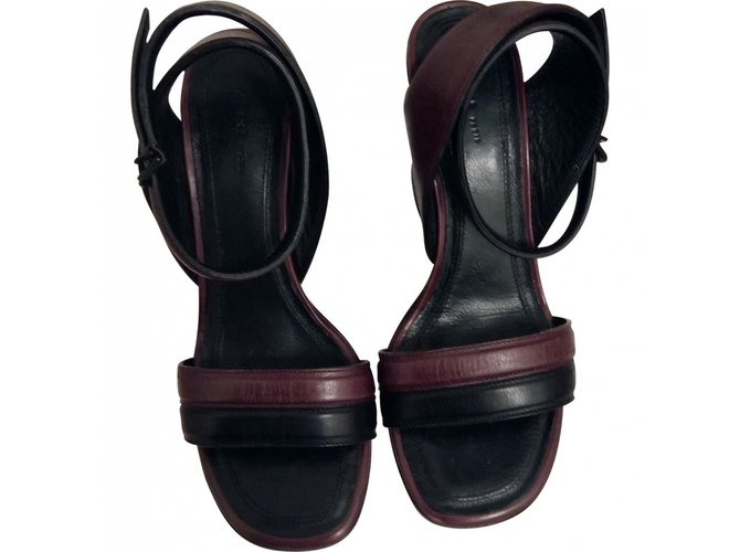 Chloé Sandals Sandals Leather Multiple colors ref.25994
