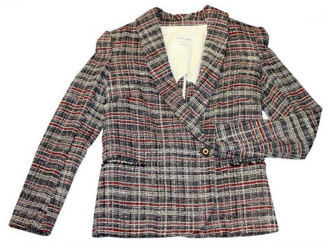 Marant Carreaux Blazer Tweed Vestes Etoile Isabel En À Laine rdthCsQx