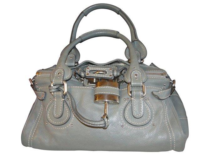 bd91a60b36 Chloé PADDINGTON Handbags Leather