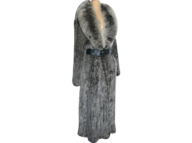 Yves Salomon Coat Coats, Outerwear Fur Other ref.27227